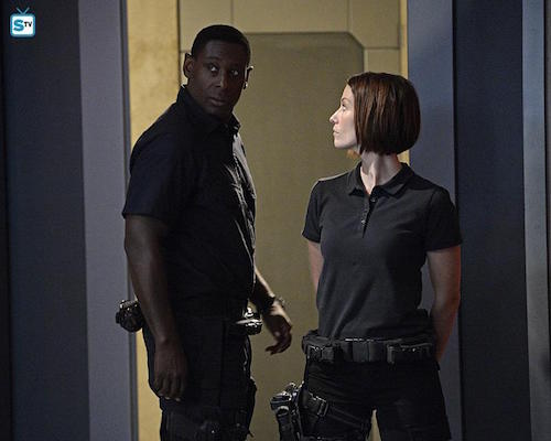 David Harewood Chyler Leigh Supergirl Human for a Day