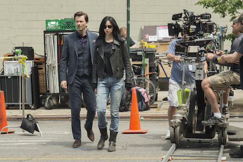 David Tennant Krysten Ritter Jessica Jones
