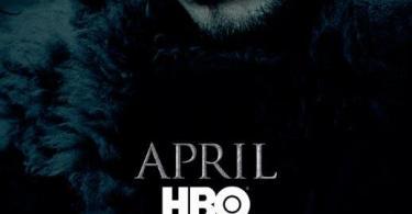 Game of Thrones Season 6 Jon Snow TV show poster