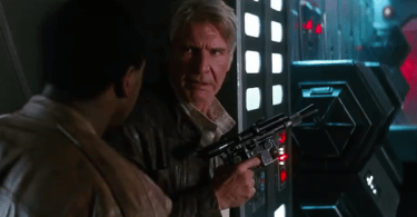Harrison Ford John Boyega STar Wars The Force Awakens