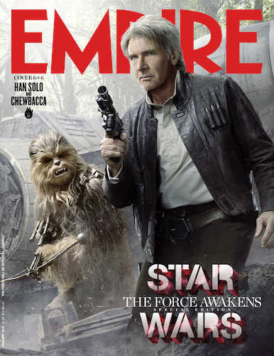 Harrison Ford Star Wars The Force Awakens Empire Cover