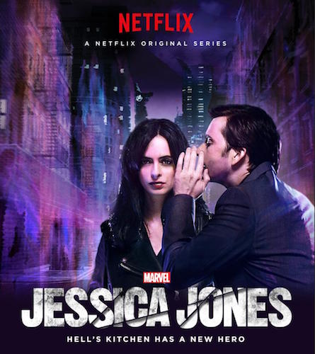 Kristen Ritter David Tennant Jessica Jones Poster