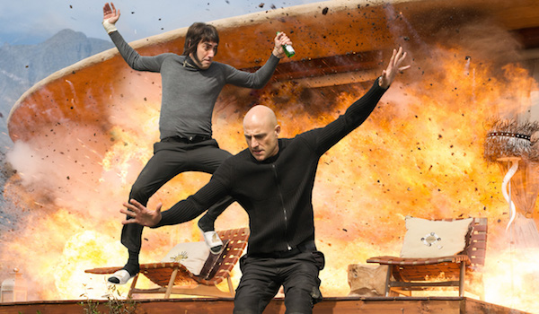 Mark Strong Sacha Baron Cohen The Brothers Grimsby