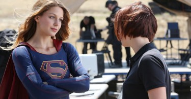 Melissa Benoist Chyler Leigh Supergirl Stronger Together