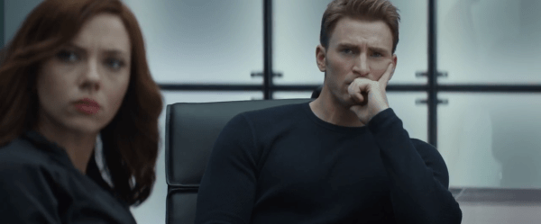 Scarlett Johansson Chris Evans Captain America Civil War