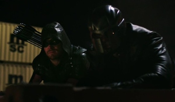 Stephen Amell David Ramsey Arrow Brotherhood