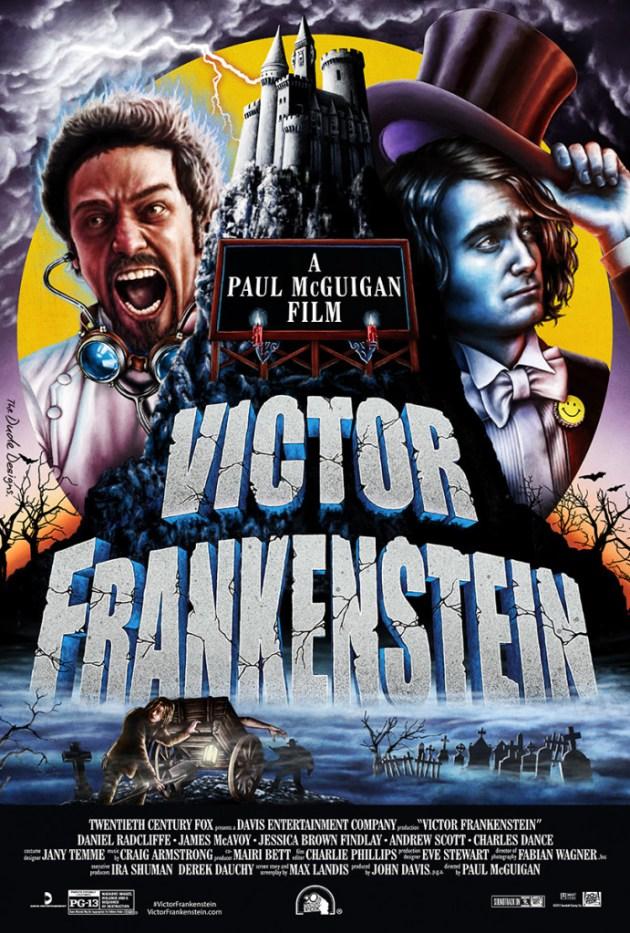 Victor Frankenstein Movie Poster 2