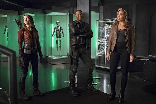 Willa Holland David Ramsey Ciara Renee The Flash Legends of Today