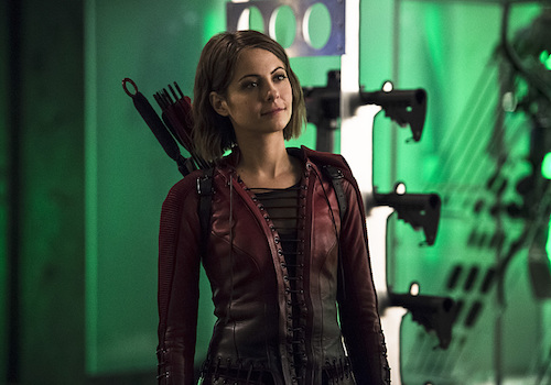 Willa Holland The Flash Legends of Today