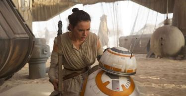 Daisy Ridley BB8 Star Wars The Force Awakens