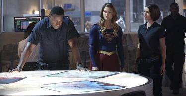David Harewood Melissa Benoist Chyler Leigh Supergirl Hostile Takeover
