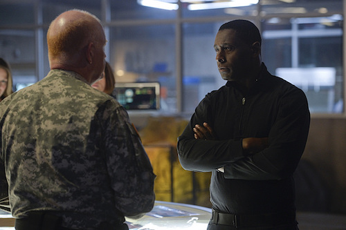 Glenn Morshower David Harewood Supergirl Blood Bonds