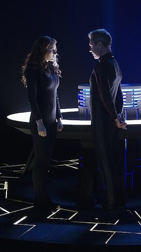 Laura Benanti Chris Vance Supergirl Hostile Takeover