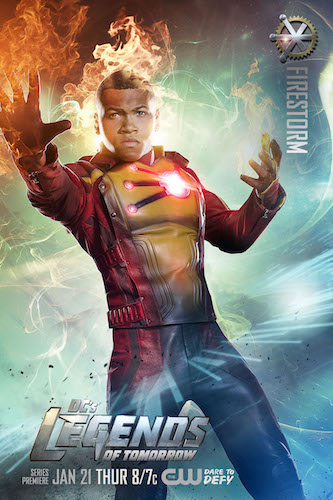 Legends of Tomorrow Poster Franz Drameh