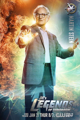 Legends of Tomorrow Poster Victor Garber