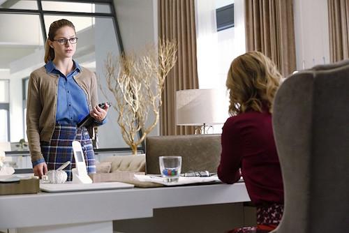 Melissa Benoist Calista Flockhart Supergirl Hostile Takeover
