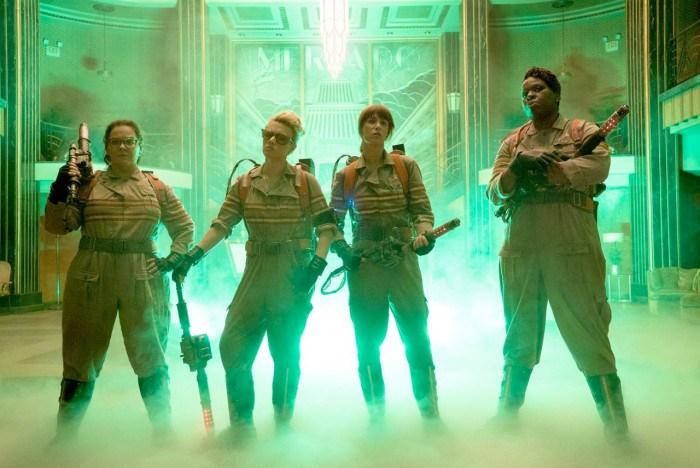 Melissa McCarthy Kate McKinnon Kristen Wiig Leslie Jones Ghostbusters