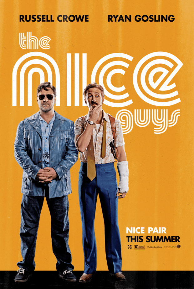 Russell Crowe Ryan Gosling The Nice Guys Poster
