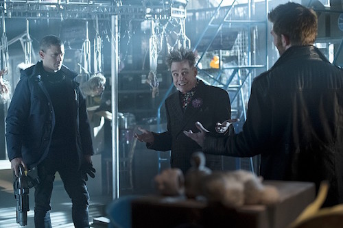 Wentworth Miller Mark Hamill Liam McIntyre The Flash Running to Stand Still