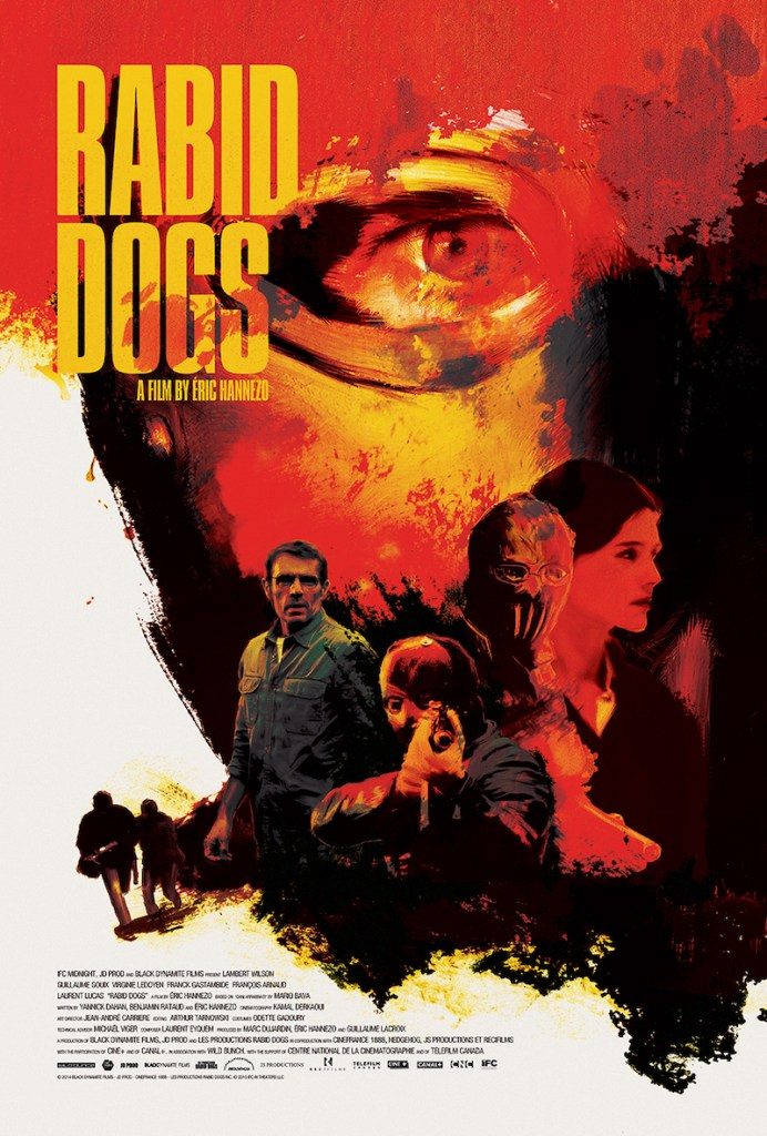 Rabid Dogs Poster