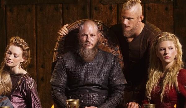 Alyssa Sutherland Travis Fimmel Alexander Ludwig Katheryn Winnick Vikings