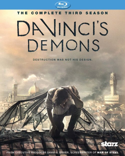 Da Vinci's Demons Season 3 Blu-ray