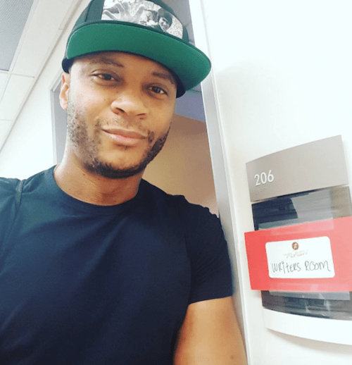 David Ramsey The Flash Set Instagram