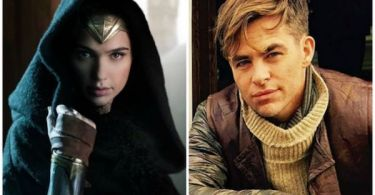 Gal Gadot Chris Pine Wonder Woman
