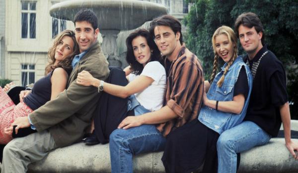 Jennifer Aniston David Schwimmer Courteney Cox Matt LeBlanc Lisa Kudrow Matthew Perry Friends