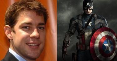 John Krasinski Captain America