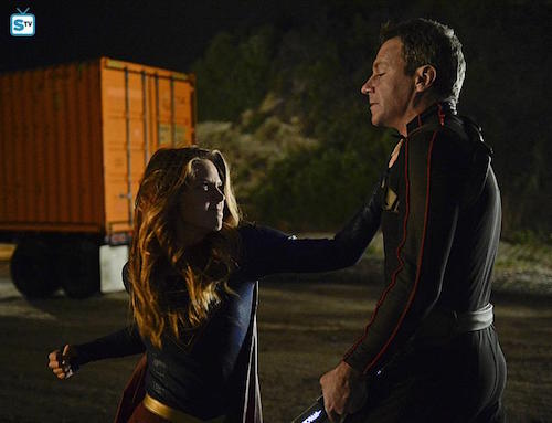 Melissa Benoist Chris Vance The Girl Who Had Everything Supergirl