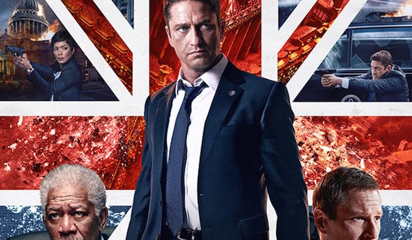 LONDON HAS FALLEN (2016) Movie Poster: London Bridge Is Falling Down