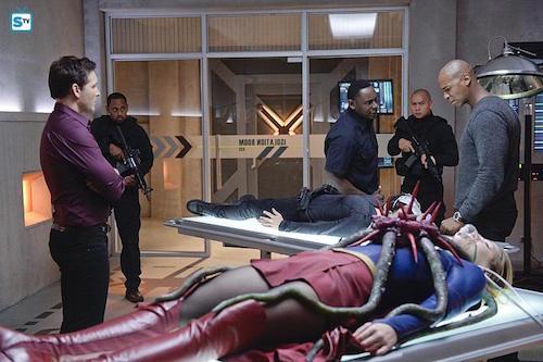 Peter Facinelli David Harewood Mehcad Brooks Melissa Benoist The Girl Who Had Everything Supergirl