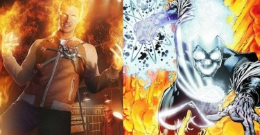 Robbie Amell Firestorm Deathstorm