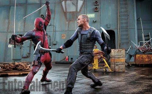 Ryan Reynolds Ed Skrein Deadpool Entertainment Weekly Empire Magazine