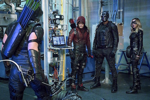 Stephen Amell Colton Haynes David Ramsey Katie Cassidy Unchained Arrow