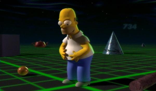 CGI Homer Simpson