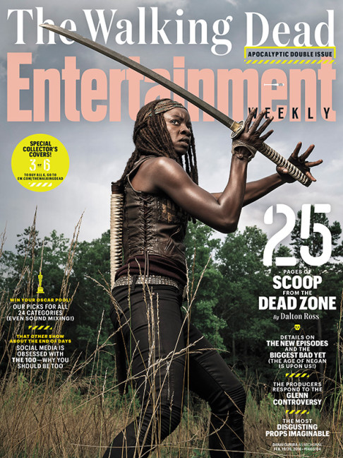 Danai Gurira The Walking Dead season 6.2