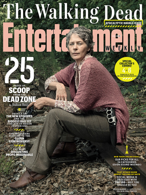 Melissa McBride The Walking Dead season 6.2