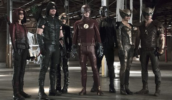 The Flash Fullcast Legends of Today