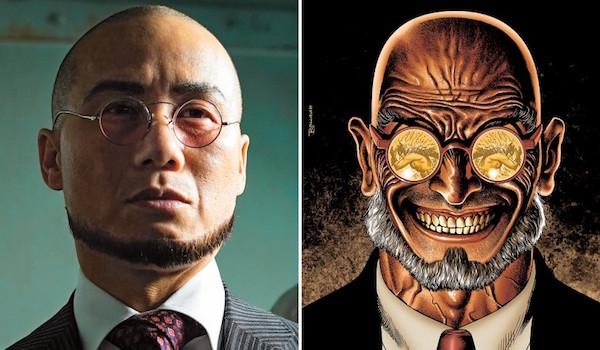 BD Wong Hugo Strange Gotham