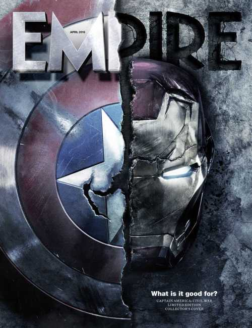 Captain America: Civil War Empire Magazine Cover April 2016
