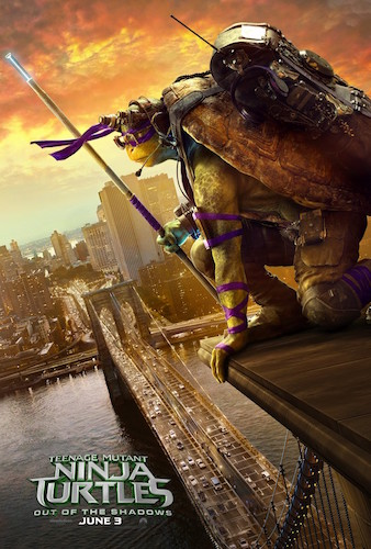 Donnie Teenage Mutant Ninja Turtles 2 Poster