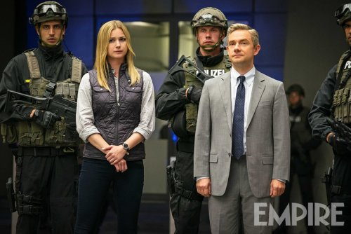 Emily VanCamp Martin Freeman Captain America: Civil War Empire Magazine April 2016