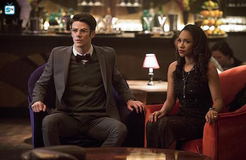 Grant Gustin Candice Patton Welcome to Earth-2 The Flash