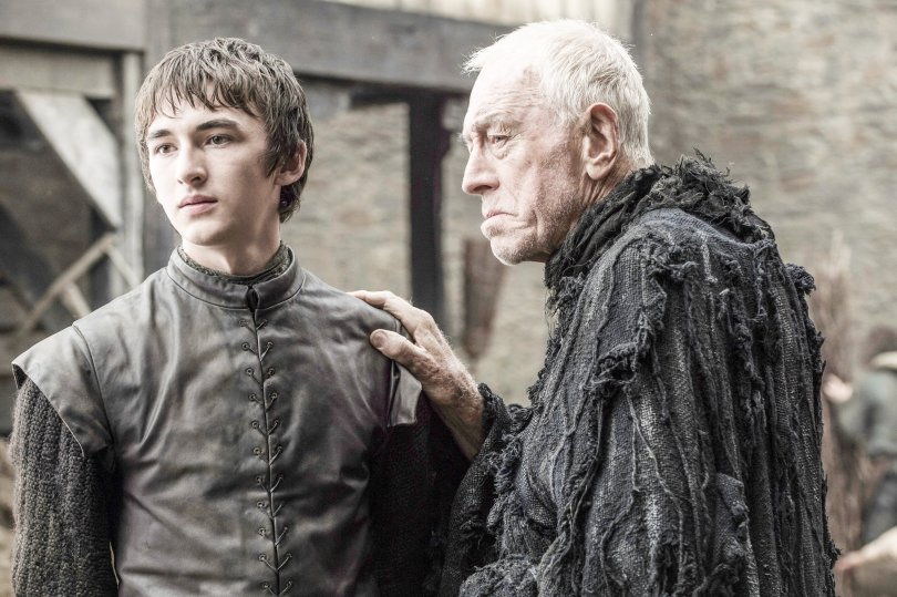 Isaac Hempstead-Wright Max von Sydow Game of Thrones Season 6