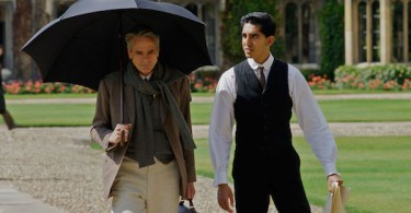 Jeremy Irons Dev Patel The Man Who Knew Infinity