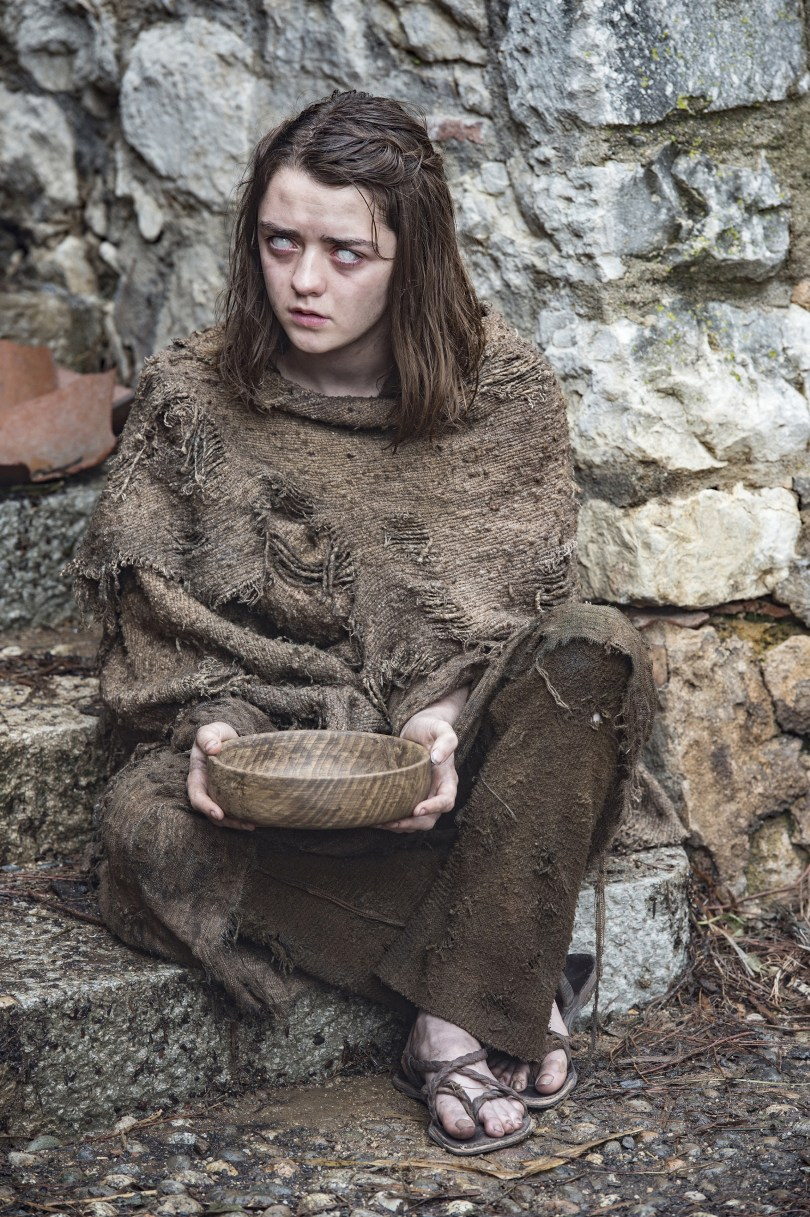 Maisie Williams Game of Thrones Season 6