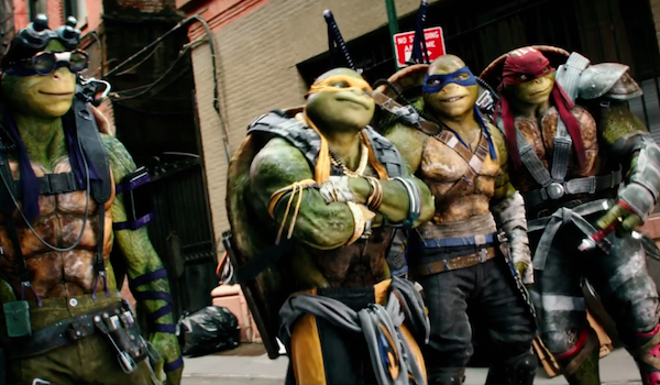 Teenage Mutant Ninja Turtles 2 Super Bowl TV Spot