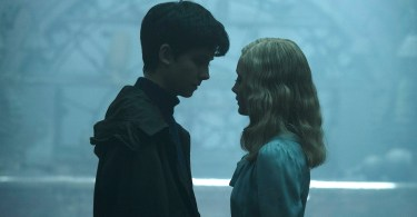 Asa Butterfield Ella Purnell Miss Peregrine's Home for Peculiar Children